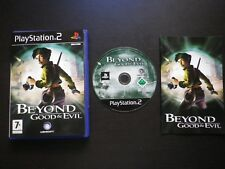 BEYOND GOOD & EVIL : JEU Sony PLAYSTATION 2 PS2 (UbiSoft COMPLET envoi suivi)