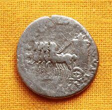 Ancient Roman Titus Denarius, Quadriga! Rare