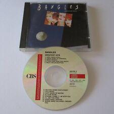 THE BANGLES - Greatest Hits - 14 Track CD Album (1990)