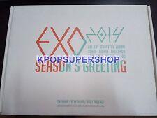 Exo Exo-K Exo M Calendar DVD 2014 Seasons Greetings Official Merchandise Great