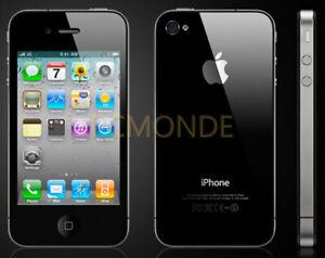 Apple iPhone 4 32GB Black Smartphone - GSM Unlocked - VGC (MC319LL/A)