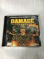 GAME DAMAGE INCORPORATED CD ROM Windows 95 Command A Squad of Marines Pc Vintage