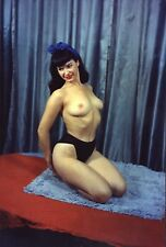 Bettie Page nude pinup 8x10 print 017