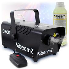 Beamz S500 Christmas Halloween Smoke Fog Effects Machine Fluid 500 Watt UK Stock