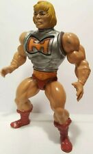 Vintage MOTU BATTLE ARMOR He-Man figure only non-working incomplete