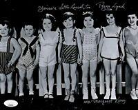 MARGARET KERRY Signed OUR GANG Little Rascals 8x10 Photo Autograph JSA COA Cert