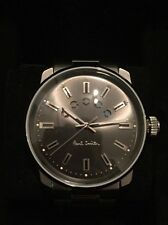 Mens Paul Smith Watch Grey Face & Silver Brand New In Box