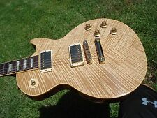 Gibson Les Paul Standard Natural Blonde Beauty Sickest Chevron Flametop- 7.9 Lbs