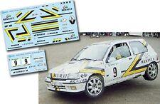 Decal 1:43 Kiko Cima - RENAULT CLIO 16V - Rally El Corte Ingles 1993