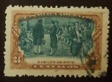 O) 1910 ARGENTINA, TOWN MEETING- CABILDO ABIERTO FROM 1810 - 24 CENTAVOS - SHIFT