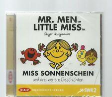 HARGREAVES: MISS SONNENSCHEIN & 3 WEITERE GESCHICHTEN * CD-HÖRBUCH * NEU & OVP
