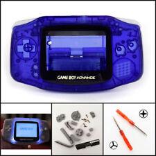 Nintendo Game Boy Advance GBA Front Light Frontlight AGS-001 Full Mod Kit Blue