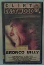 Bronco Billy - Vhs - Clint Eastwood - Warner - Selten
