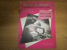 September 6th 1956, MODEL ENGINEER, Bill Ogden, Frank Jutton, Colin Stanforth.