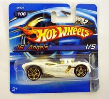 HOT WHEELS 16 ANGELS #106 White Heat Diecast Car Short Card MOC COMPLETE 2005