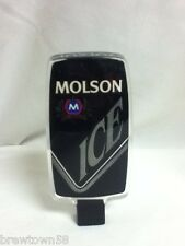 Molson ice import  beer tapper handle tap taps tappers knob pull J7