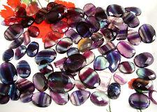 300 Cts 100% Natural Beautiful Top Quality Fluorite Mixed Shape Gemstone Lot