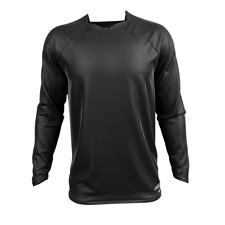 CANVAS MX JERSEY MOTOCROSS OFFROAD BMX ATV QUAD PLAIN BLACK X-LARGE XL CUSTOMIZE