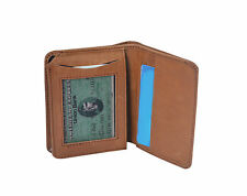 High Quality Men's Wallet Real Leather Credit Card Id Holder Moneybag Purse