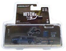 1:64 GreenLight *Hitch & Tow 21* 2020 Silverado 1500 w/Trailer & Indian Bike Nip
