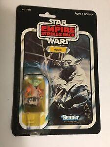 Vintage Star Wars 1980 YODA THE EMPIRE STRIKES BACK ESB JEDI