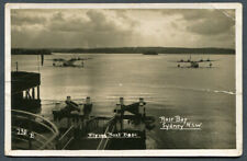 AUSTRALIA,NSW,ROSE BAY,FLYING BOAT BASE,UN,RP,PUB MOWBRAY SERIES NO.730 B.