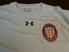 Knoxville Crush Football Club Under Armour Heat Gear T Shirt XL Loose   A11