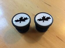 NOS Rocky Mountain ETSX Vertex Altitude Canadian Maple Leaf Bar End Plugs (2)