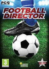 Football Director (PC DVD) NEW SEALED