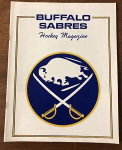 1970 Buffalo Sabres Program vs California Golden Seals Buffalo AUD 11-13-1970