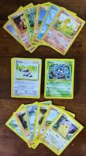 Pokemon Card Lot of 66 Base Set German All cards NM-M Condition