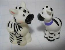 MOM & BABY FPLP Animals LOT Noah's Ark ZOO TWO BY TWO MALE & FEMALE ZEBRAS
