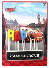 Disney Pixar Cars Candle - Happy Birthday Pick Candles