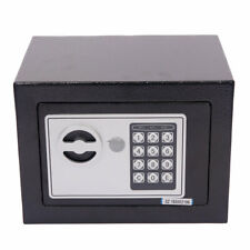 Fireproof Digital Safe Combination Cash Box Lock Safety Deposit Small Drawer Gun