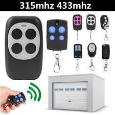 Electric Cloning Universal Gate Garage Door Remote Control Key Fob 315MHz 433Mhz