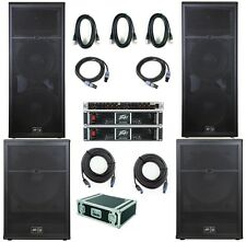Peavey Sp complete Pa system Big USA Made sp4bx sp118bx cs2000 3670w Rock Band