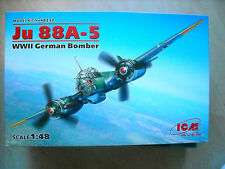 ICM-1/48- #48232- JU 88A5  WWII GERMAN MEDIUM BOMBER