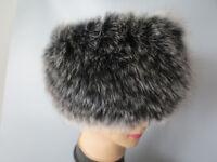 New knitted100%  Genuine fox fur headbands /hap/cap/fur collar/ fur scarf /wrap