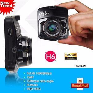 1080P FHD Car Dash DVR Video Camera Cam Recorder Night Vision G-Sensor 170° UK