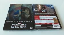 CAPTAIN AMERICA - CIVIL WAR STEELBOOK EDITION