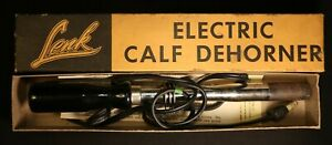 Vintage Electric Lenk Calf Dehorner - Farm, Cattle, Ranching