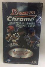 2003 Bowman Chrome Factory Sealed Baseball Hobby Box