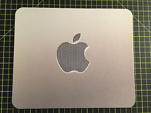 GREY APPLE effect print MOUSEMAT MOUSE MAT PAD compatible with Mac iMac MacBook