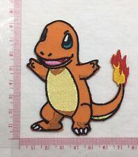 DIY Charmander Pokemon Go Emblem Sew Iron-On Embroidered Applique Patch Badge