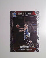 2015 Panini Prizm Basketball #377 Stephen Curry Card Golden State Warriors