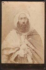 Notable des Ouled-Sidi-Cheikh à Paris. Photographe Eugène Pirou. 1885. #1