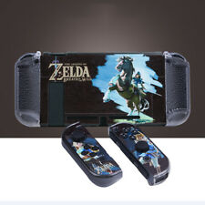 Zelda Pattern Hard Protective Shell Cover Case Kit for Nintendo Switch & Joy-Con