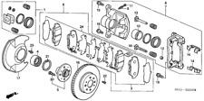 Genuine Honda Bolt Caliper Mounting (12X21) 90107-SM4-000