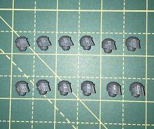 MKIII Space Marine têtes/Casques X 12 40k/30k Bits Mark 3