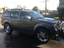 08 Nissan Pathfinder Turbo Diesel 7 Seater Rego 22in Mags Bargain PRICE DROPPED!